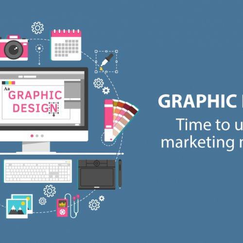 Graphic Design of Marketing Materials