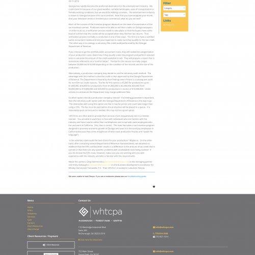 CPA Website Designer