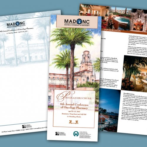 Oncology Conference Print Design