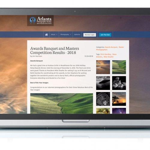 Photo Web Blog Design